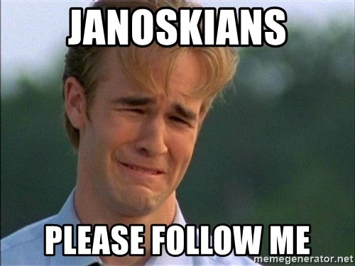 Dawson Crying - janoskians please follow me