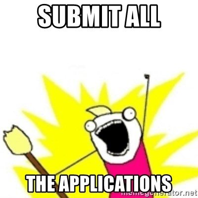 x all the y - submit all the applications