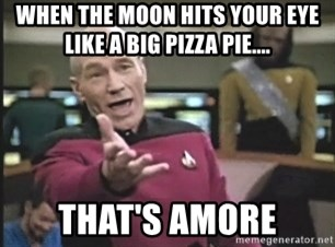 Picard Wtf - When the moon hits your eye like a big pizza pie.... that's amore