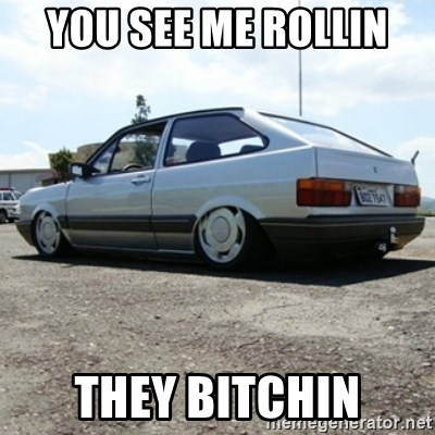 treiquilimei - you see me rollin  they bitchin