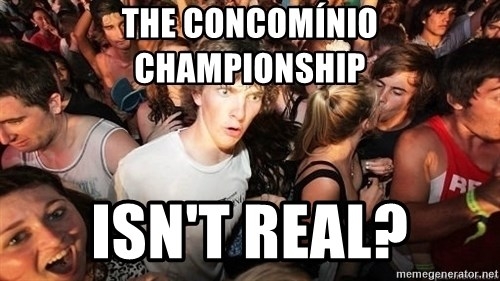 Sudden Realization Ralph - The concomínio championship isn't real?