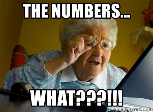 Internet Grandma Surprise - The numbers... what???!!!