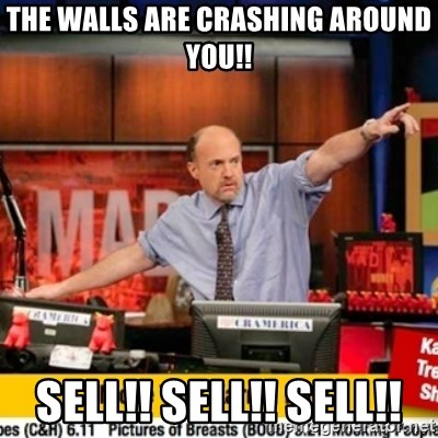 Karma Cramer - THE WALLS ARE CRASHING AROUND YOU!! SELL!! SELL!! SELL!!