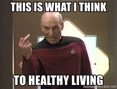 Picard Finger - This is what I think To healthy living