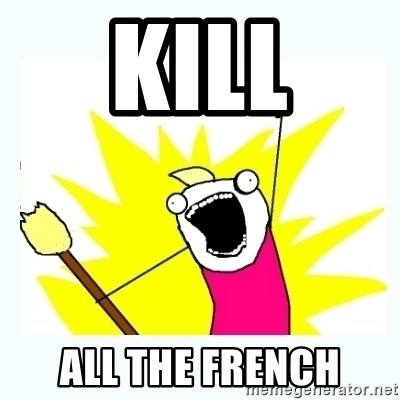 All the things - Kill All the french