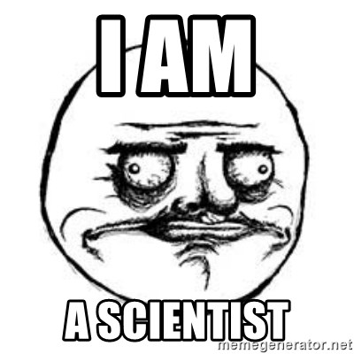 Me Gusta face - I am A scientist