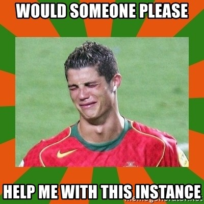 cristianoronaldo - would someone please help me with this instance