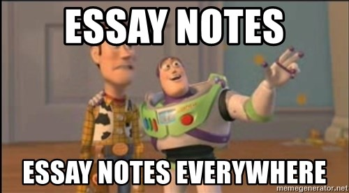 X, X Everywhere  - essay notes essay notes everywhere