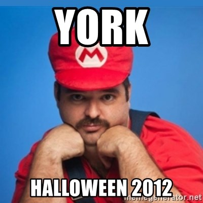 SUPERSEXYMARIO - YORK HALLOWEEN 2012
