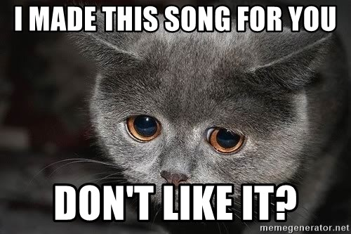 Sadcat - i made this song for you don't like it?