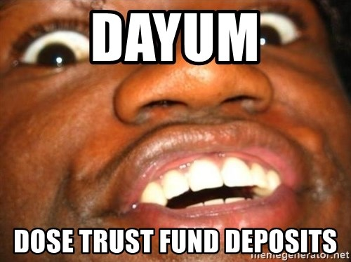 Wow Black Guy - DAYUM Dose Trust Fund Deposits