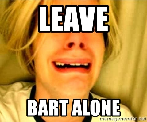 Leave Brittney Alone - Leave Bart alone
