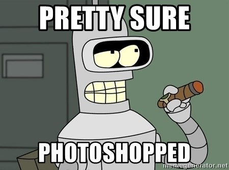Typical Bender - Pretty Sure  Photoshopped