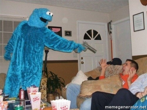 Bad Ass Cookie Monster -