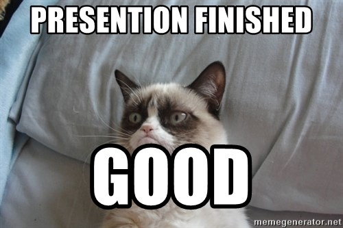 Grumpy cat good - Presention Finished good