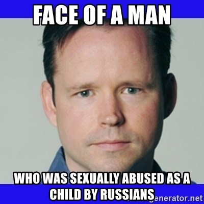 krebsonsecurity - Face of a man who was sexually abused as a child by russians