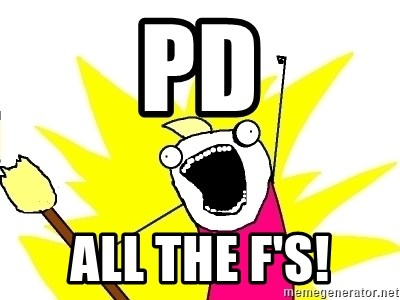 X ALL THE THINGS - pd all the f's!