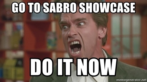 Arnold - Go to sabro showcase Do it now