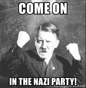 Disco Hitler - come on  in the nazi party!