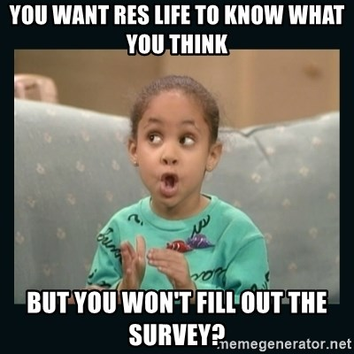 Raven Symone - YOU WANT RES LIFE TO KNOW WHAT YOU THINK but you won't fill out the survey?