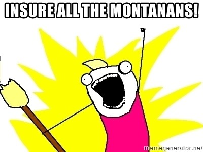 X ALL THE THINGS - Insure all the montanans!