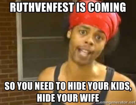 Bed Intruder - Ruthvenfest is coming so you need to hide your kids, hide your wife