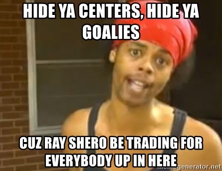 Antoine Dodson - Hide Ya Centers, Hide Ya Goalies Cuz Ray Shero Be Trading for everybody up in here