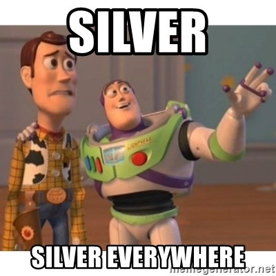 Toy story - SILVER SILVER EVERYWHERE