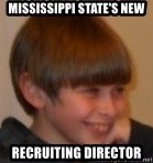 Little Kid - Mississippi State's New Recruiting director