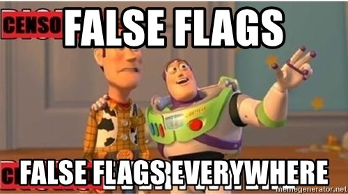 Toy Story Everywhere - False flags False flags everywhere