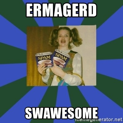 ERMAGERD STOOLS  - Ermagerd swawesome