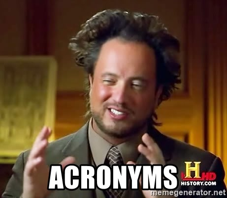 Ancient Aliens -  ACRONYMS