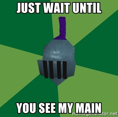 Runescape Advice - Just WAIT UNTIL YOU SEE MY MAIN