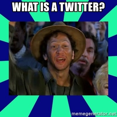 You can do it! - What is a twitter?