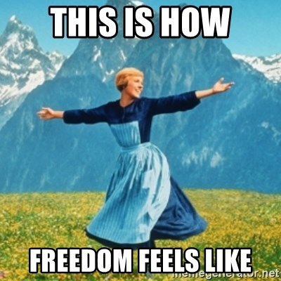 Sound Of Music Lady - This is how freedom feels LIke
