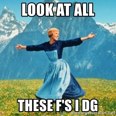 Sound Of Music Lady - LOOK AT ALL these F's i dg