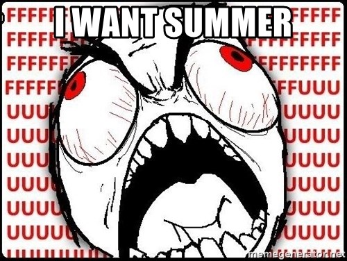 Rage Face - I Want Summer
