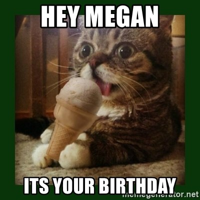 lil bub - Hey Megan Its your Birthday
