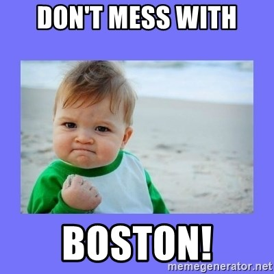 Baby fist - DOn't Mess with Boston!