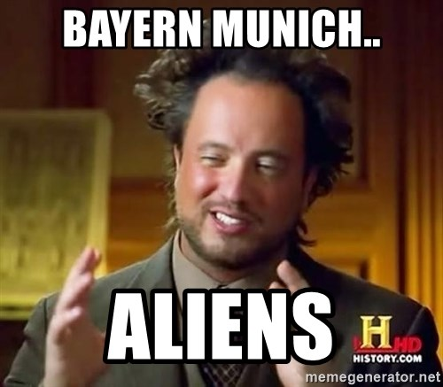 Ancient Aliens - Bayern munich.. aliens