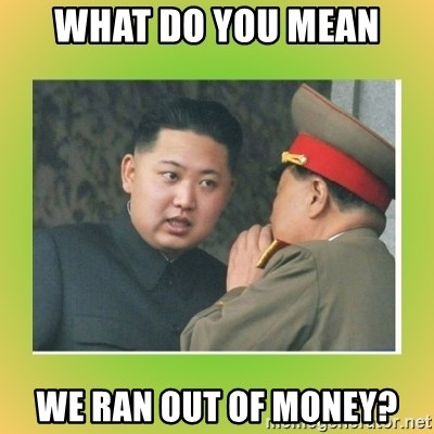 kim joung - WhAT DO YOU MEAN WE RAN OUT OF MONEY?