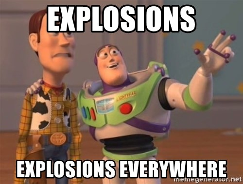 Tseverywhere - explosions explosions everywhere