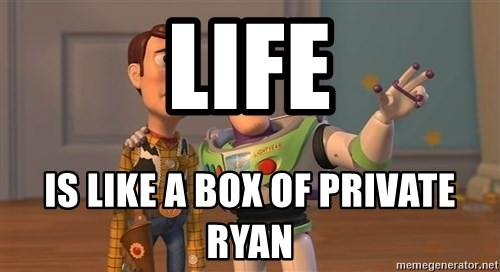 Toy Story Everywhere - life is like a box of private ryan