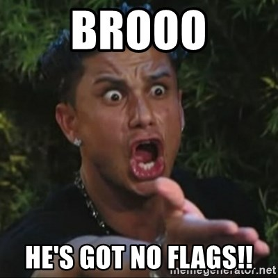 Pauly D Yelling - Brooo He's got nO flags!!