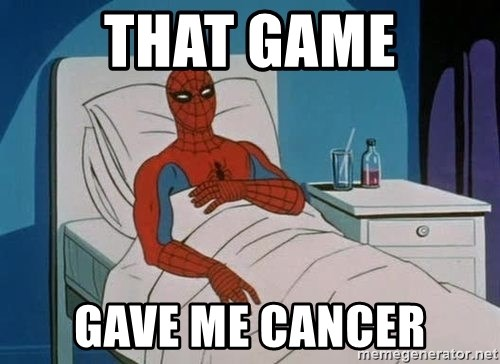 spiderman hospital - THAT GAME GAVE ME CANCER