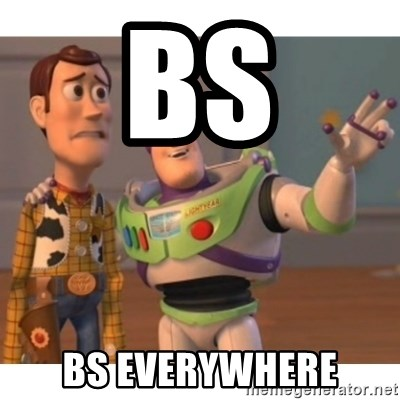 Toy story - BS Bs everywhere