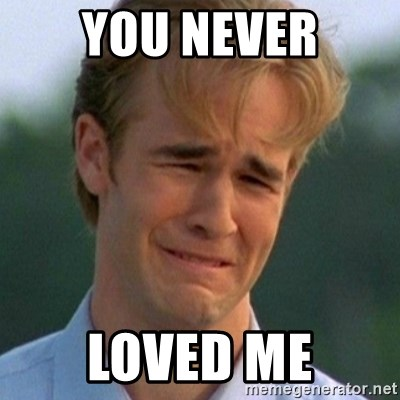 90s Problems - You never loved me