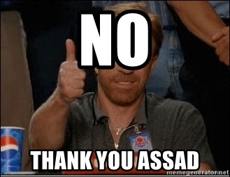Chuck Norris Approves - No Thank you assad