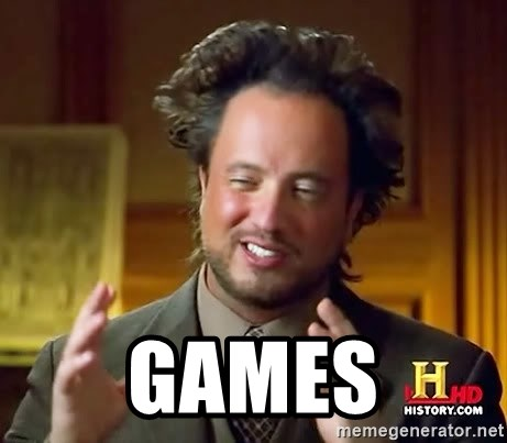 Ancient Aliens -  games