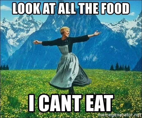 Look at all the things - Look at all the Food I cant Eat
